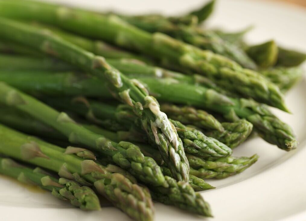 Asparagus Spears Blanched recipe image