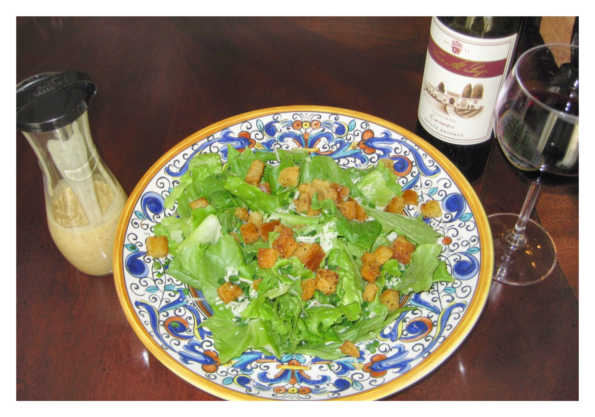 Caesar's Salad Dressing recipe image